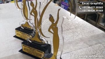 Acrylic Awards in Erode, Tamilnadu